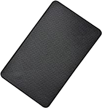 Hulless Super Sticky Car Dashboard Anti Slip Mat Magic Anti Slip Mat 10.6 x 5.9 inch Car Dashboard Sticky Pad Adhesive Mat for Cell Phone, CD, Electronic Devices, Keys, Sunglasses, etc, 1pcs.