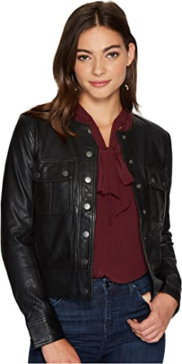 Lucky Brand - Collarless Jacket