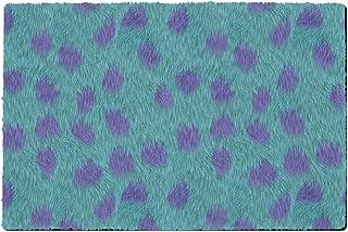 Rainbow Rules Indoor Neoprene Doormat - Sully Fur Monsters Inc Disney Inspired