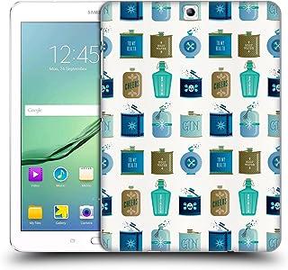 オフィシャル Cat Coquillette ブルー・フラスク パターン4 Samsung Galaxy Tab S2 9.7 専用ハードバックケース