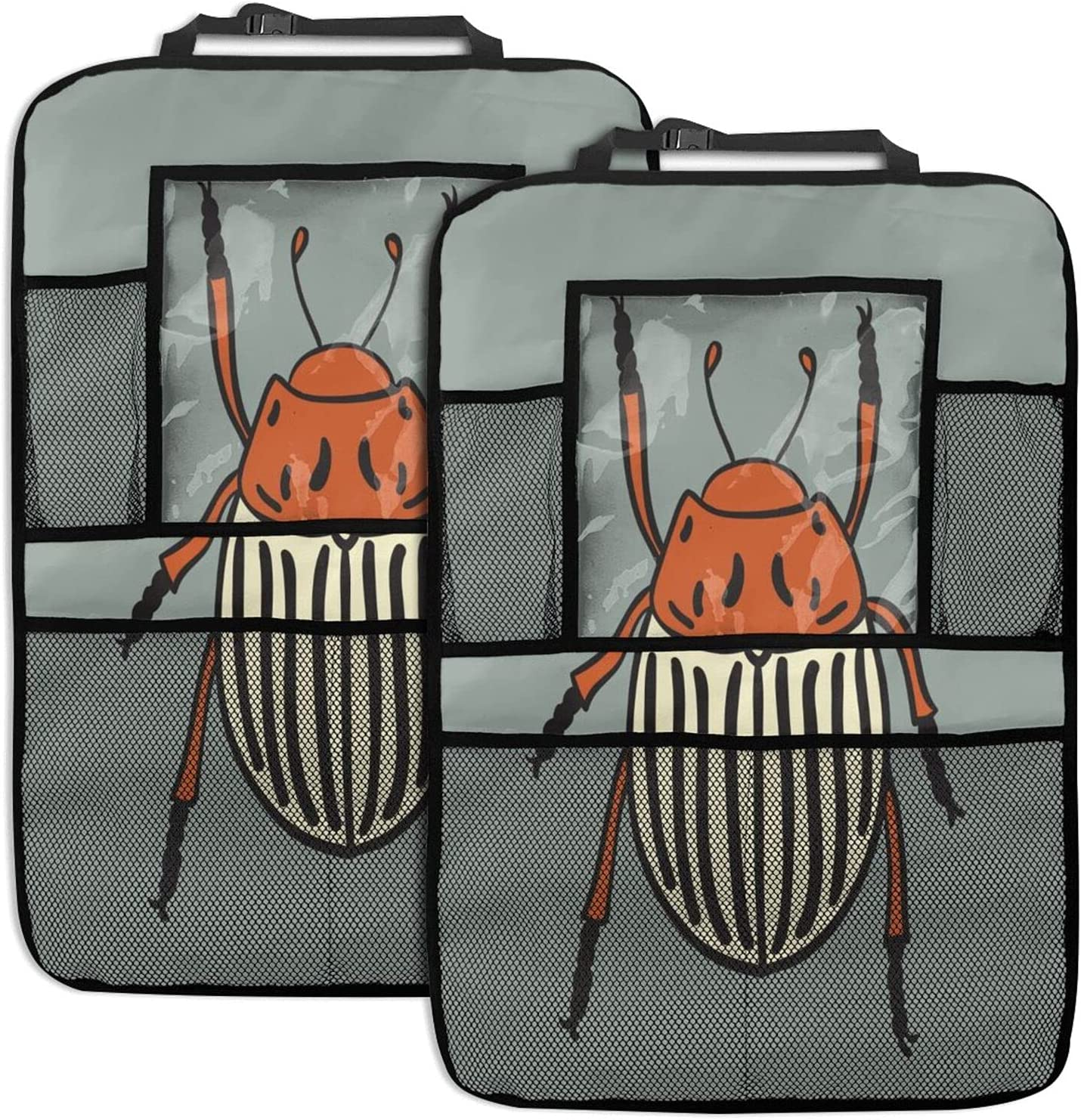 IBILIU Potato Beetle Back Seat Limited time sale Protector 2 Bu Insect Flying Pack Detroit Mall