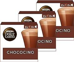 Nescafé Dolce Gusto Capsules Chococino - Chocolademelk - 48 Stuks (3 x 16 Capsules)