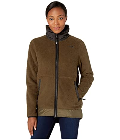 The North Face Dunraven Sherpa Parka (New Taupe Green) Women