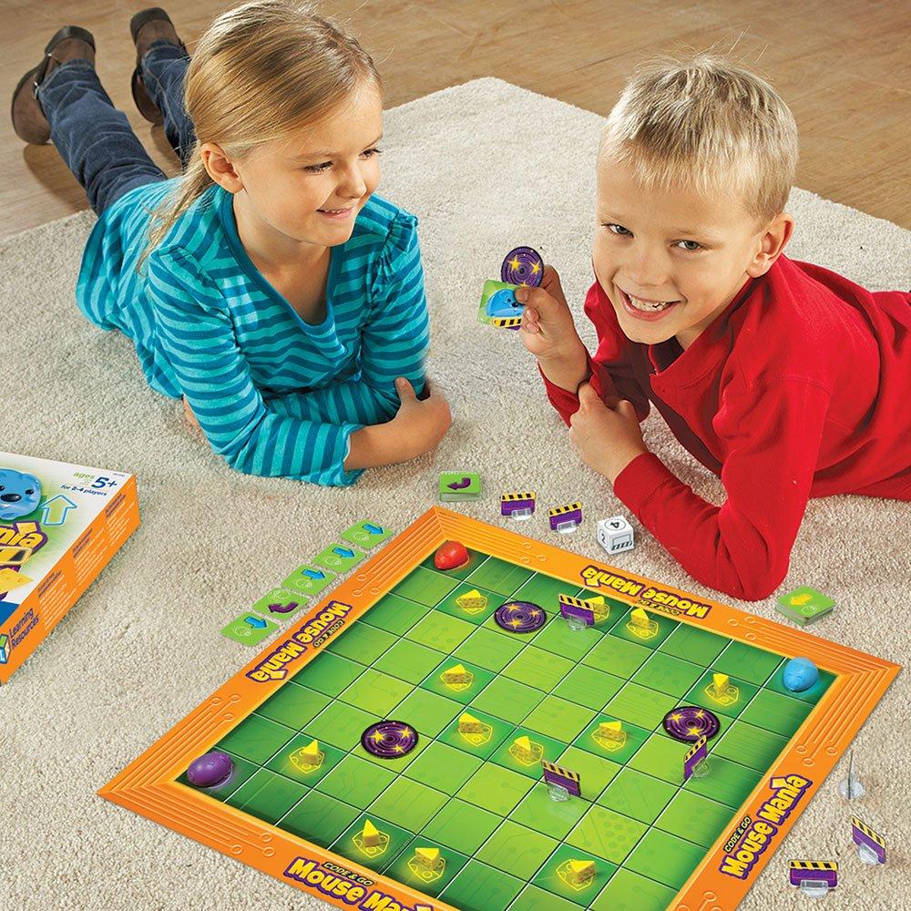 Learning Resources- Juego de Mesa Ratonmanía de Code & Go, Color (LER2863): Amazon.es: Juguetes y juegos