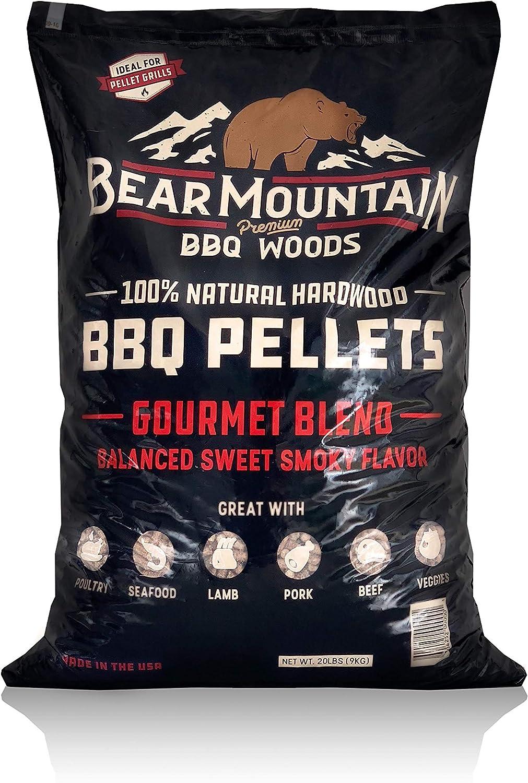 Bear Kansas City Mall Mountain BBQ 100% All-Natural Gourmet Hardwood - Dallas Mall Pellets Bl
