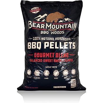 Bear Mountain BBQ FK99 All-Natural Hardwood Smoky Gourmet Blend BBQ Smoker Pellets for Outdoor Grilling, 20 lbs