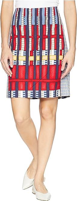 Santiago Hills Block Skirt