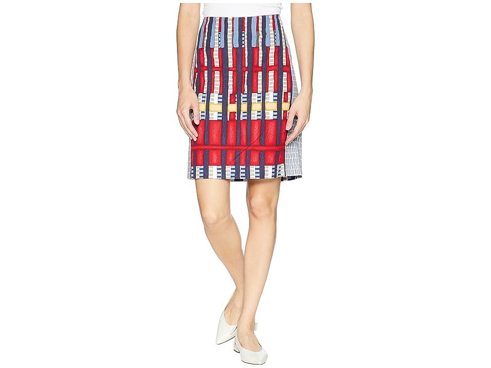 NIC+ZOE Santiago Hills Block Skirt (Multi) Women