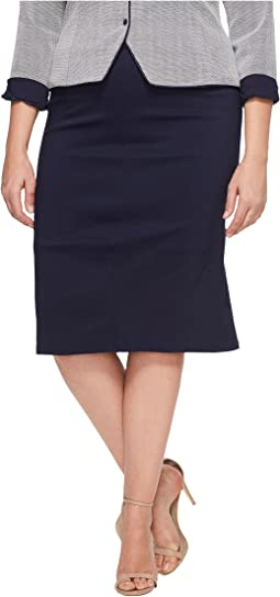 Unique Vintage - Plus Size Hildy Pencil Skirt