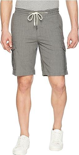 Bermuda Cargo Shorts w/ Drawstring