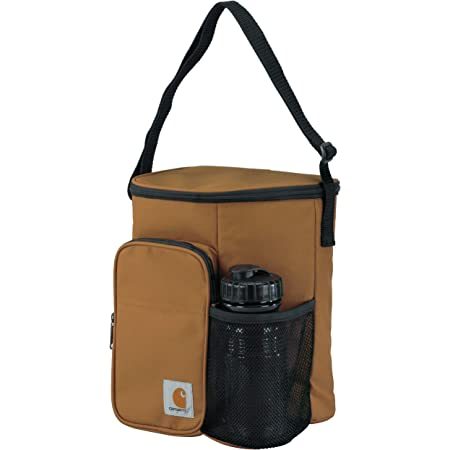 Carhartt Vertical Insulated Lunch Cooler Bag with Water Bottle