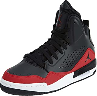 Jordan Kids SC-3 GS Black Black Gym RED White Size 5