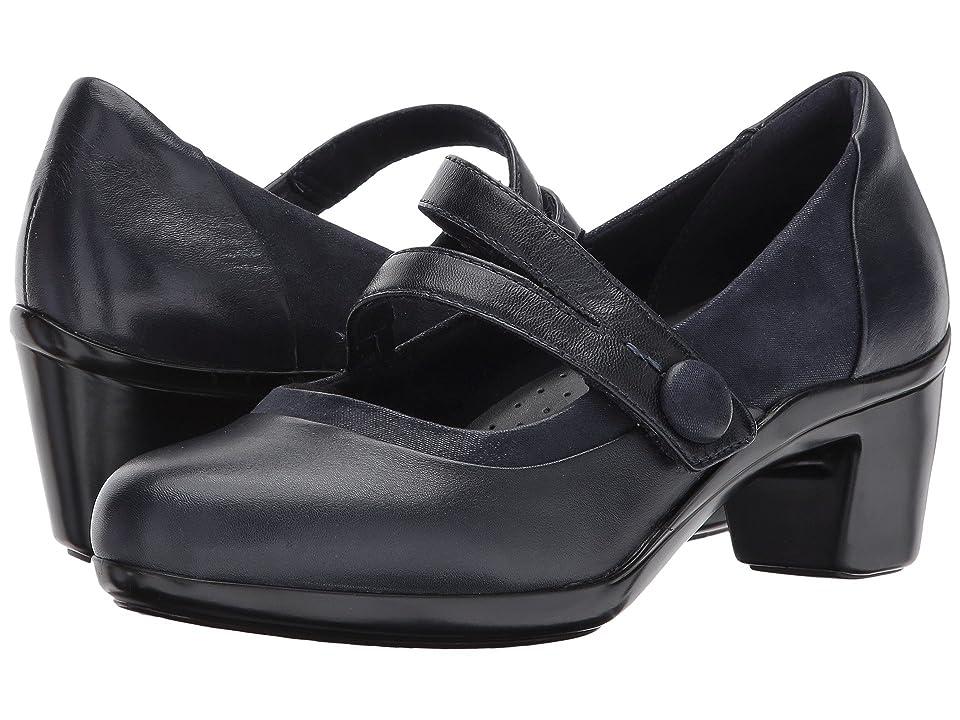 Aravon Lexee Mary Jane (Navy Leather) Women