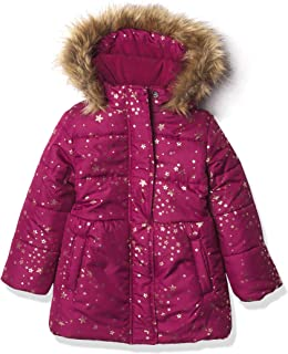 NAUTICA Girls Girls Heavy Weight Jacket with Removable Hood Jacket - Pink - M8/10
