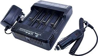 XTAR(エクスター) VP4 充電器 フルセット【4スロット ディスプレイ搭載】 《 電子タバコ IMR バッテリー 対応》