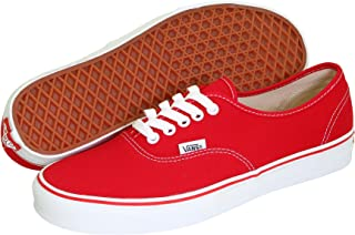Amazon.com: Vans - Red / Shoes / Men: Clothing, Shoes & Jewelry
