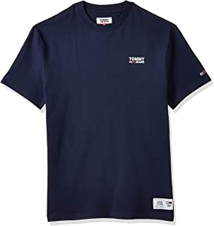 Tommy Jeans Men's TJM Chest Corp Logo Tee T-Shirt