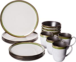 Mikasa 5256263 Willa Green 16-Piece Dinnerware Set