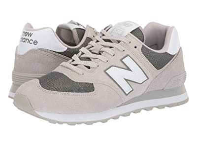 New Balance Classics 574v2-USA (Light Cliff Grey/Mineral Green) Men