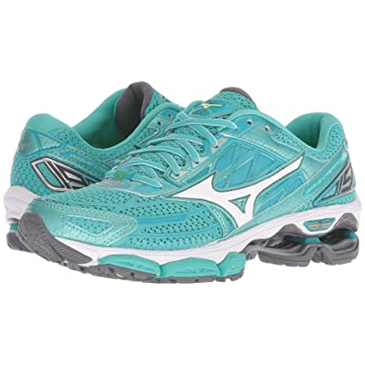 Mizuno Wave Creation 19 (Turquoise/Peacock Blue) Girls Shoes