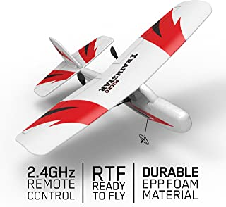 VOLANTEXRC Remote Control Airplane Traninstar Micro 2.4GHz RC Aircraft RTF Ready to Fly Indoor Outdoor Good for Kids Adluts (781-2) …