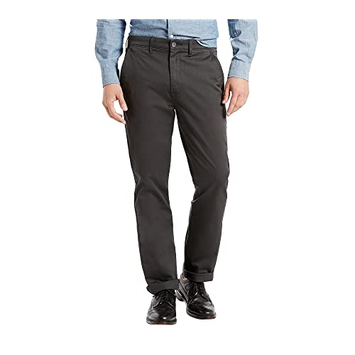 Mens Textured Slim Fit Trousers Pants Side Back Pockets Stretchy Jog Bottoms