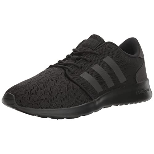 2223ff68e8f2b Women's All Black Leather Running Shoe: Amazon.com