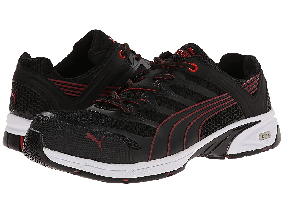 PUMA Safety Fuse Motion SD (Black/Red) Men