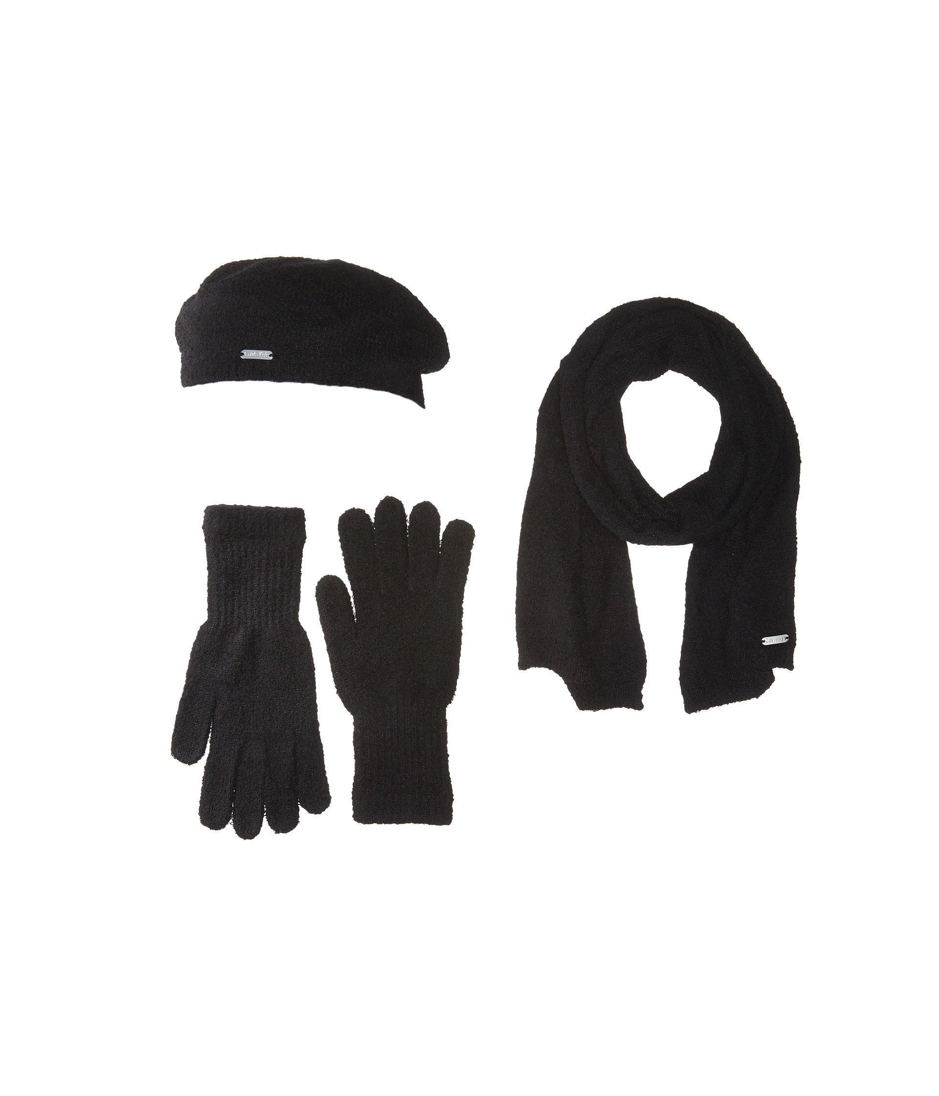 Three-Piece Super Soft Set, BLACK