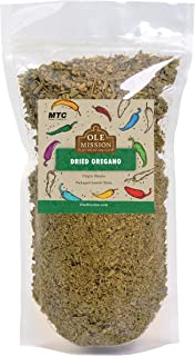 Mexican Oregano Dried Organic 3 oz Great For Mole, Enchiladas,Taco Seasoning, Tamales, Chili, Meats, Soups, Menudo, Carne by Ole Mission