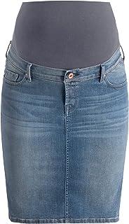 Love2wait Gonna premaman di jeans  Dark Wash B999004