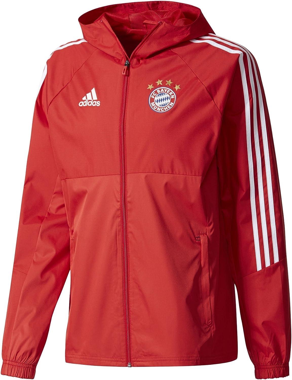 adidas FCB RN Jkt Chaqueta FC Bayern de Munich, Hombre: Amazon.es: Ropa y accesorios