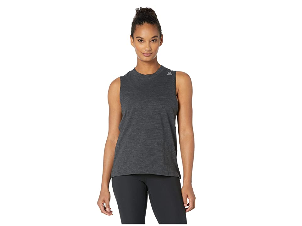 Reebok Training Elements Marble Tank (Black) Women