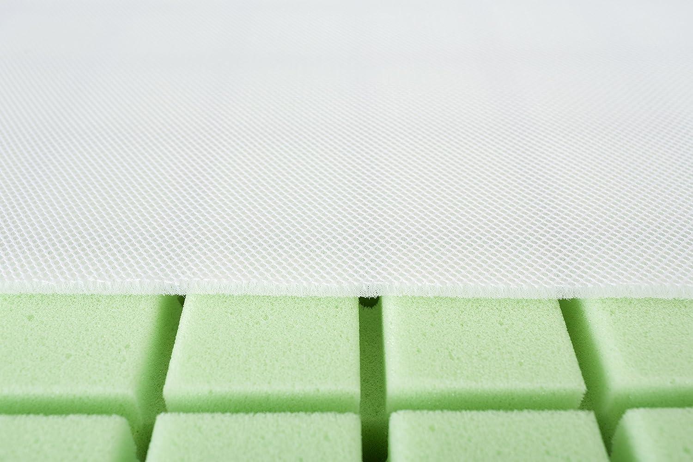 70 x 140 cm 8 pezzi 3500 g bianco prodotto in modo sostenibile Tr/äumeland T015352 OCTASMART Materasso per neonati e bambini