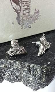 2X Final Fantasy X Tidus Earrings FF10 Squall Griever Necklace Cloud Serah Cosplay Anime