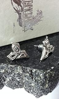 2x Final Fantasy X Tidus Earrings | FF10 Cosplay Dissidia Squall Griever Necklace Cloud Serah Anime