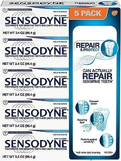Sensodyne 980066854 Repair and Protect 5 Pack/ 3.4 oz, Shape