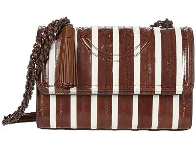 Tory Burch Fleming Eel Patchwork Convertible Shoulder Bag