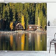 log cabin photography