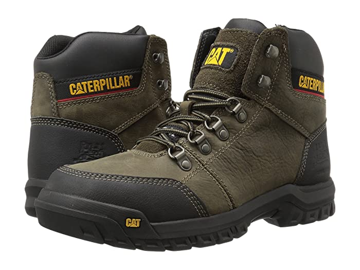 Caterpillar  Outline ST (Dark Gull Grey) Mens Work Lace-up Boots