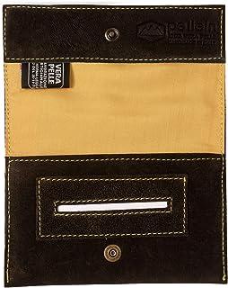 Pellein - Portatabacco in vera pelle Crackland - Astuccio porta tabacco, porta filtri, porta cartine e porta accendino. Ha...