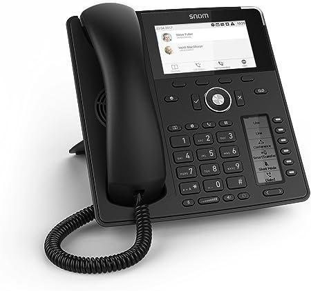 Snom D785 Global Desk Telephone (6 (24) Configurable Self-labeling  Multicolor LED Keys,High-resolution Colour Display),Black,00004349:  Amazon.co.uk: Electronics & Photo