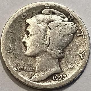 1923 S Mercury Dime Very Good