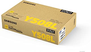 Samsung Electronics CLT-Y508L Yellow Toner Cartridge - 4,000 Page Yield