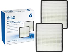 Fette Filter - Air Purifier True HEPA Filter F Compatible with Holmes HAP769. Compare to Part # HAPF700 (2 Pack)