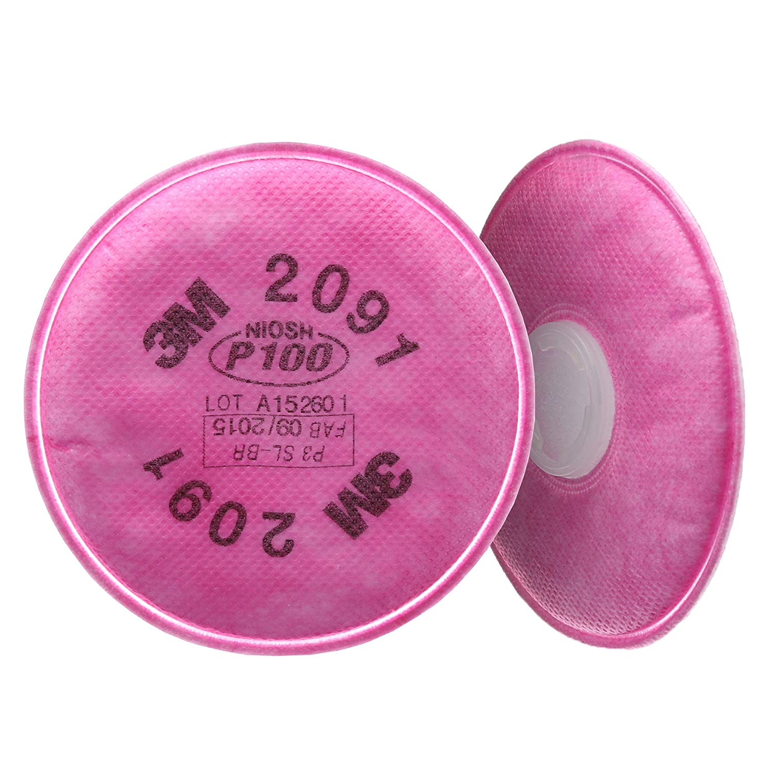 3M P100 Respirator Filter 2091 Against Protect 50 Ranking TOP20 70% OFF Outlet Helps Pairs