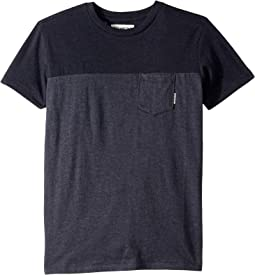 Zenith Blocked Crew Tee (Big Kids)