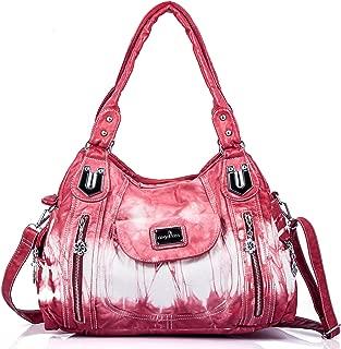 Handbag Hobo Women Handbag Roomy Multiple Pockets Street ladies' Shoulder Bag Fashion PU Tote Satchel Bag for Women