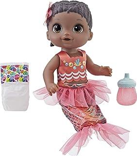 Baby Alive Shimmer n Splash Mermaid (Black Hair)