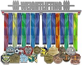 VICTORY HANGERS Gewichtheffen Medal Hanger Display